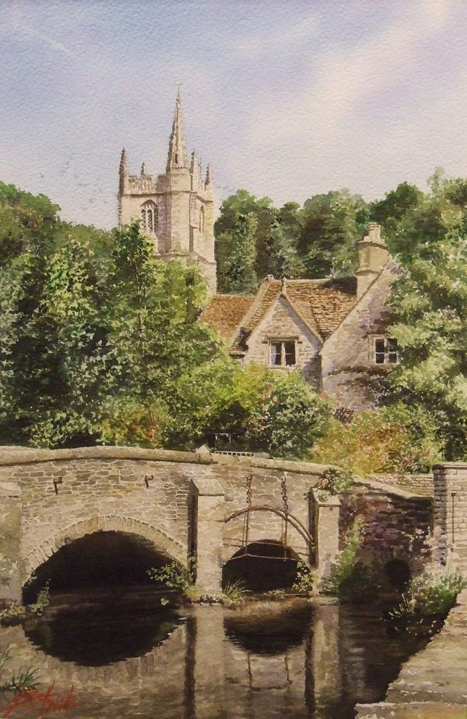 Heart of the Village  Castle Combe.